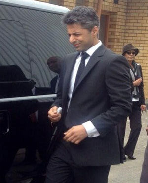 Murder accused Shrien Dewani in Cape Town. (File, Sapa)