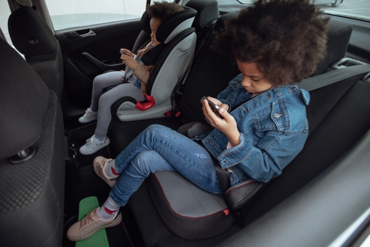 The importance of booster car seats for older chil