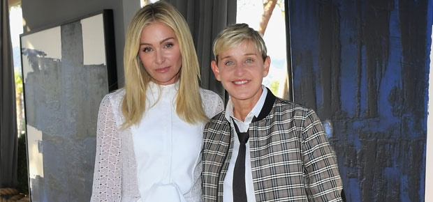 Ellen And Portia Wedding.Watch Wedding Footage Of Ellen Degeneres And Portia De Rossi As