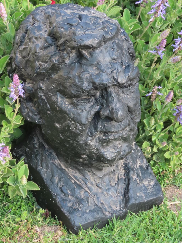 Die kopbeeld van Van Jaarsveld se pa, Floors, wat
