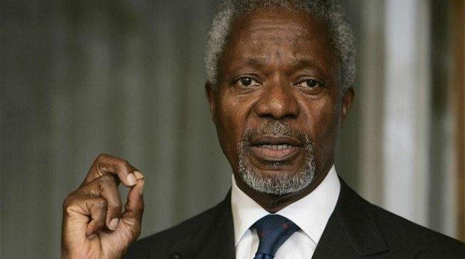 world leaders mourn kofi annan
