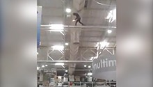 WATCH: Makro to introduce additional security measures after man climbs into rafters, sets box alight