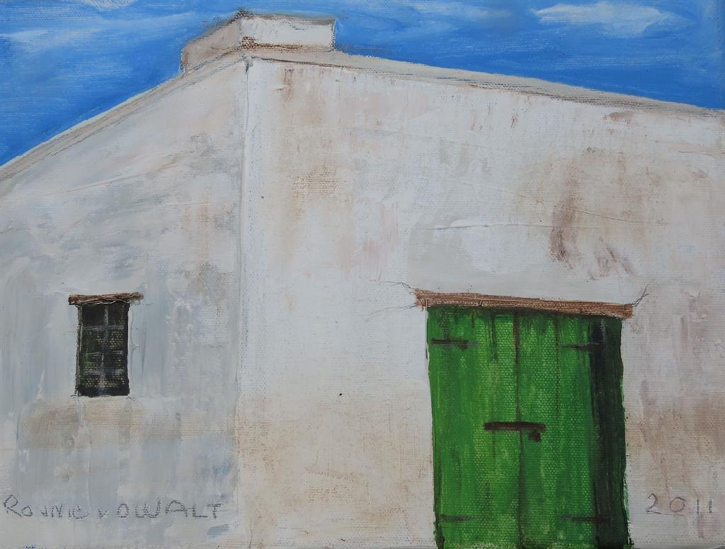 'Karoohuisie' deur Ronnie van der Walt. Foto: Vers