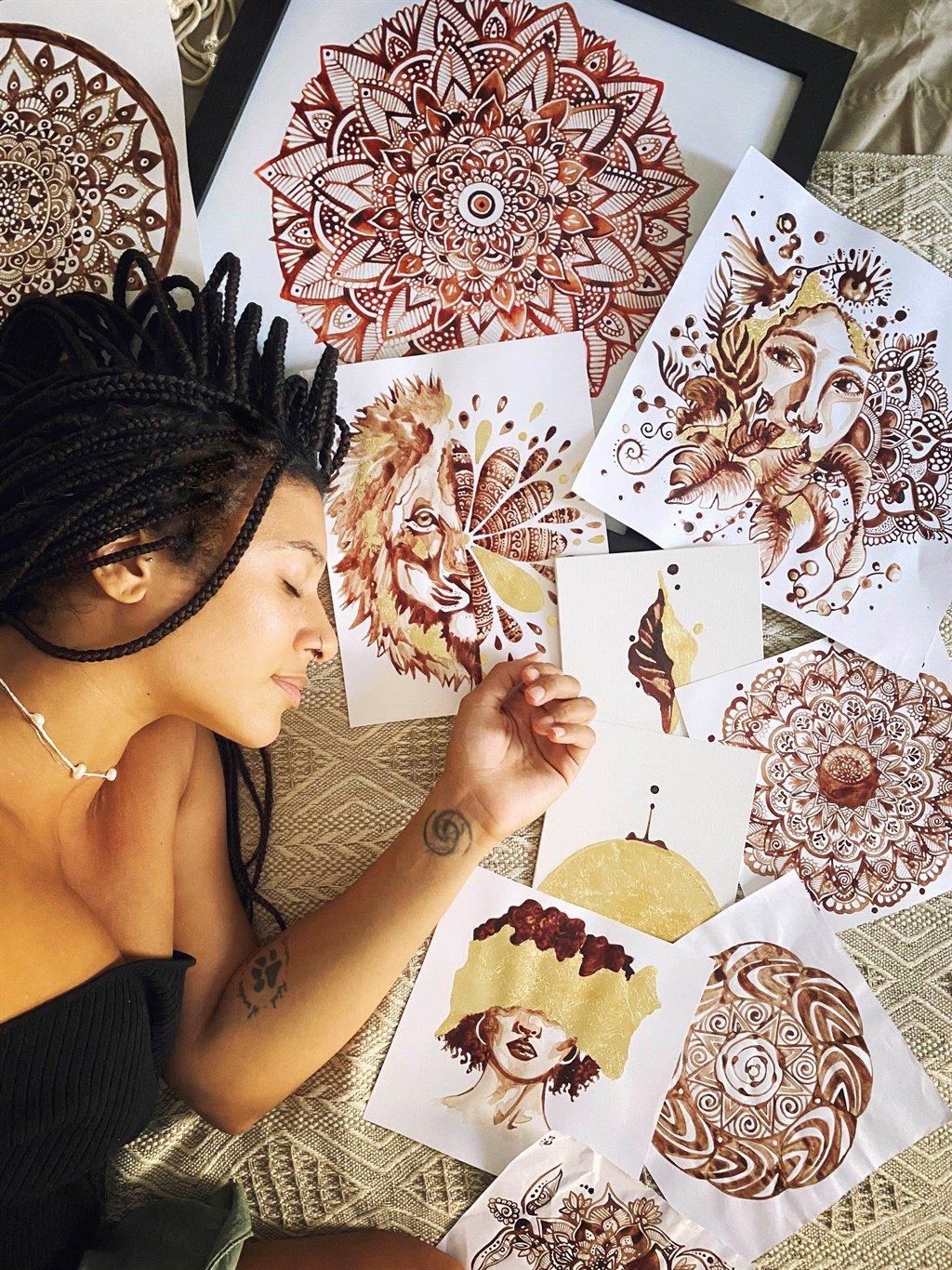 Jasmine Alicia Carter,Barcelona,Spain,Artist,Menst