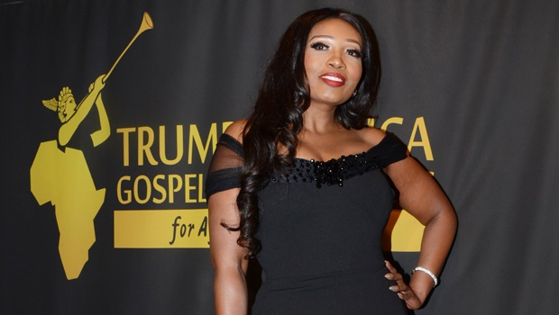 Actress and wedding planner Sophie Ndaba at the Trumpet Africa Gospel Music Awards  back in 2016.