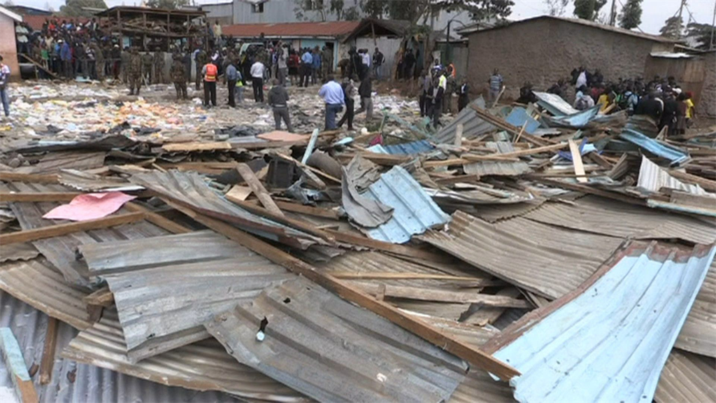 7 children killed in Nairobi classroom collapse