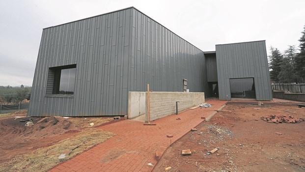 The exterior of the Mandela Capture Site museum.