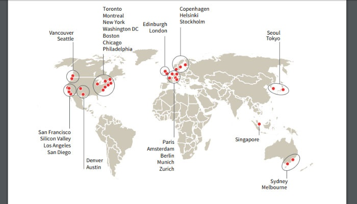 cities best placed for long-term success