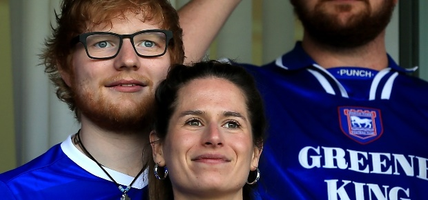 who is ed sheeran married to