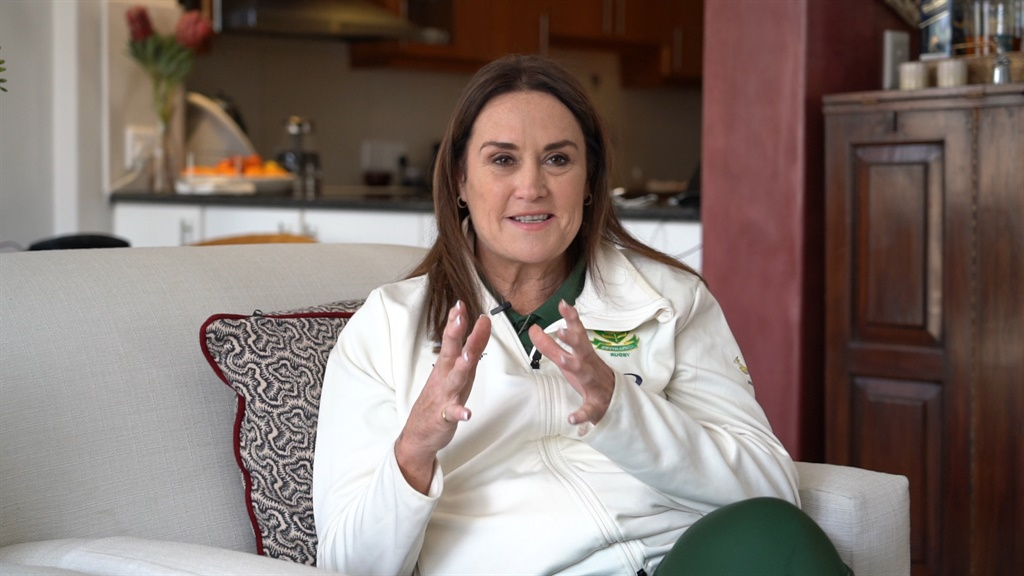 PR and Administrations Manager for the Springboks, Annelee Murray.