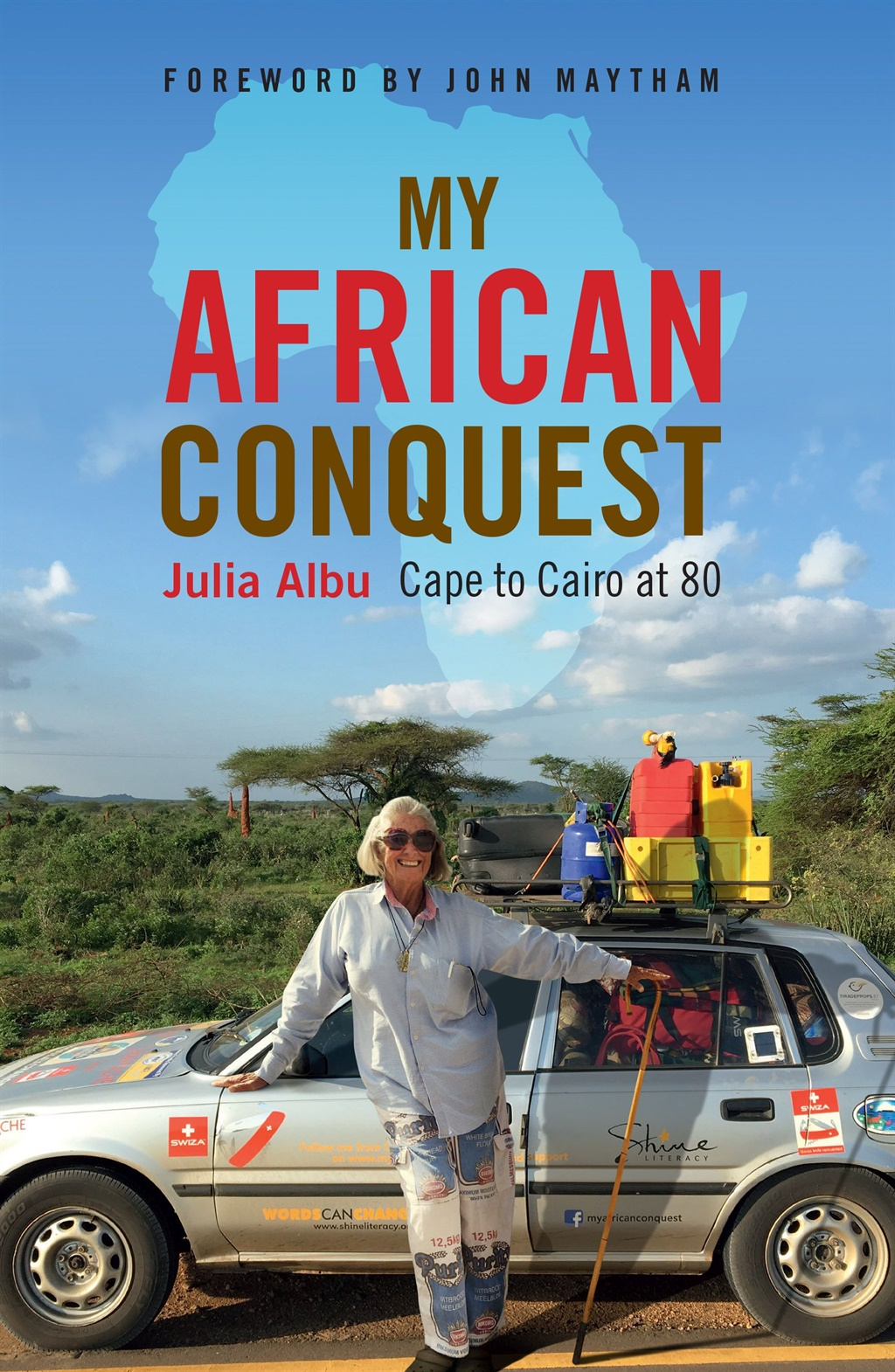 This is an extract from My African Conquest by Julia Albu, published by Jonathan Ball Publishers.