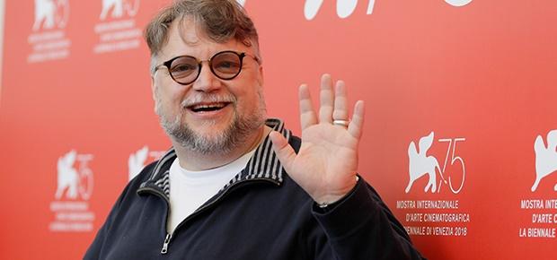 Guillermo del Toro at the Venice Film Festival.
