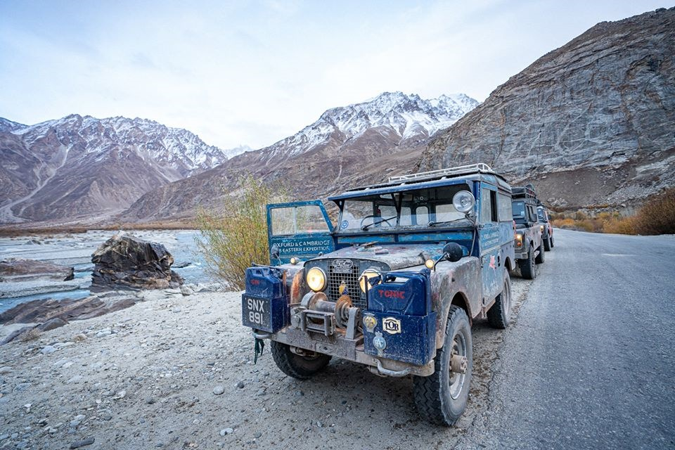 The last overland land rover