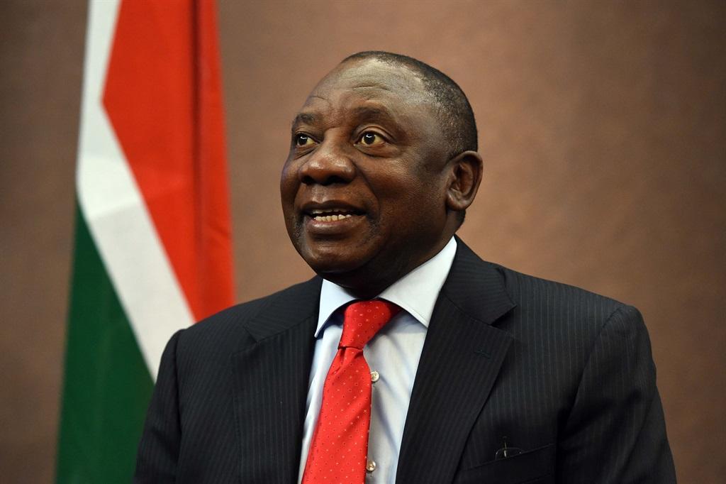President Cyril Ramaphosa. Photo: Jacoline Schoonees