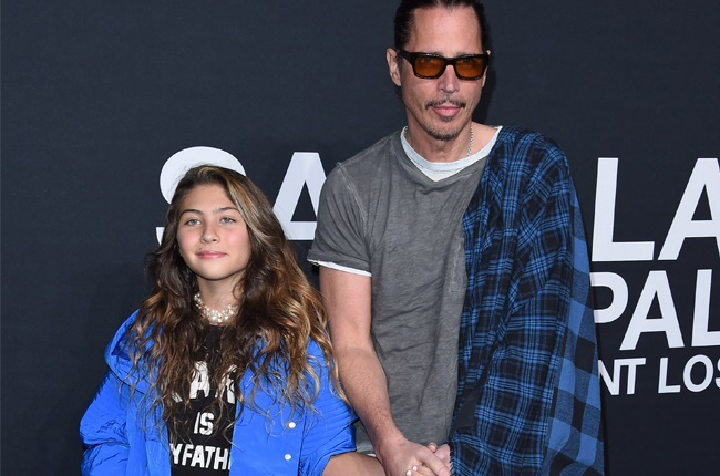 Chris Cornell and daughter Toni at an event in 2016.