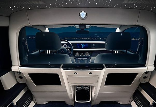 Rolls-Royce Motor cars takes the luxury of privacy