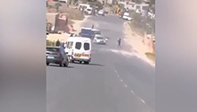 WATCH: Looters descend on cash-in-transit vehicle after Mpumalanga heist