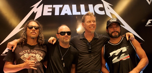 Members of Metallica band