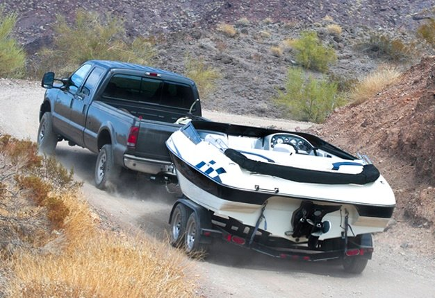 <B>READY TO TOW?</B>Make sure all the components of the vehicle being towed and the coupler, hitch and other parts are in working condition before you set off on your journey. <I>Image: </I>