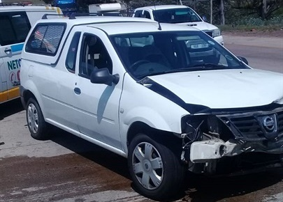 One of the vehicles involved in the crash. (Supplied)