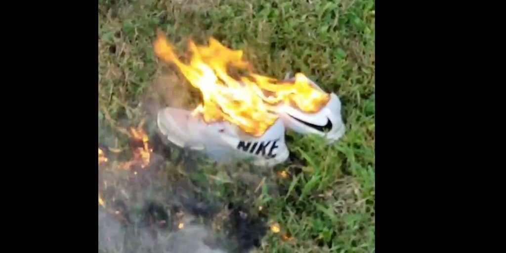 People Are Destroying Their Nike Shoes And Socks To