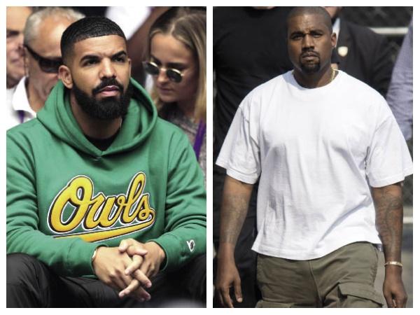Drake en Kanye