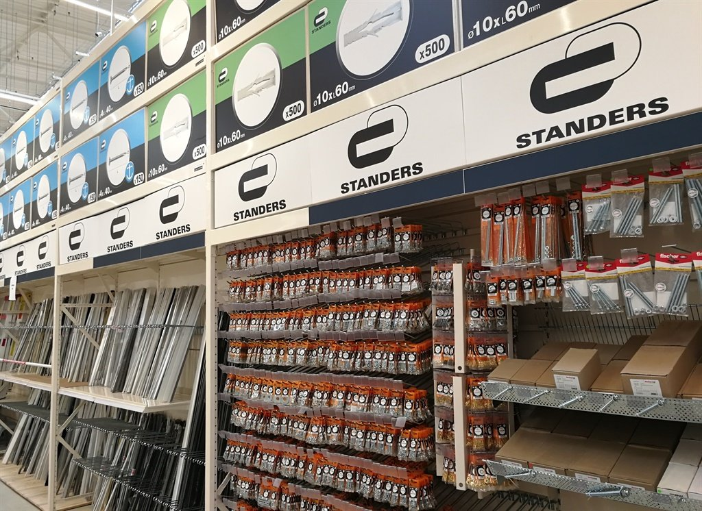 We got a sneak peek of french hardware store leroy merlin about to