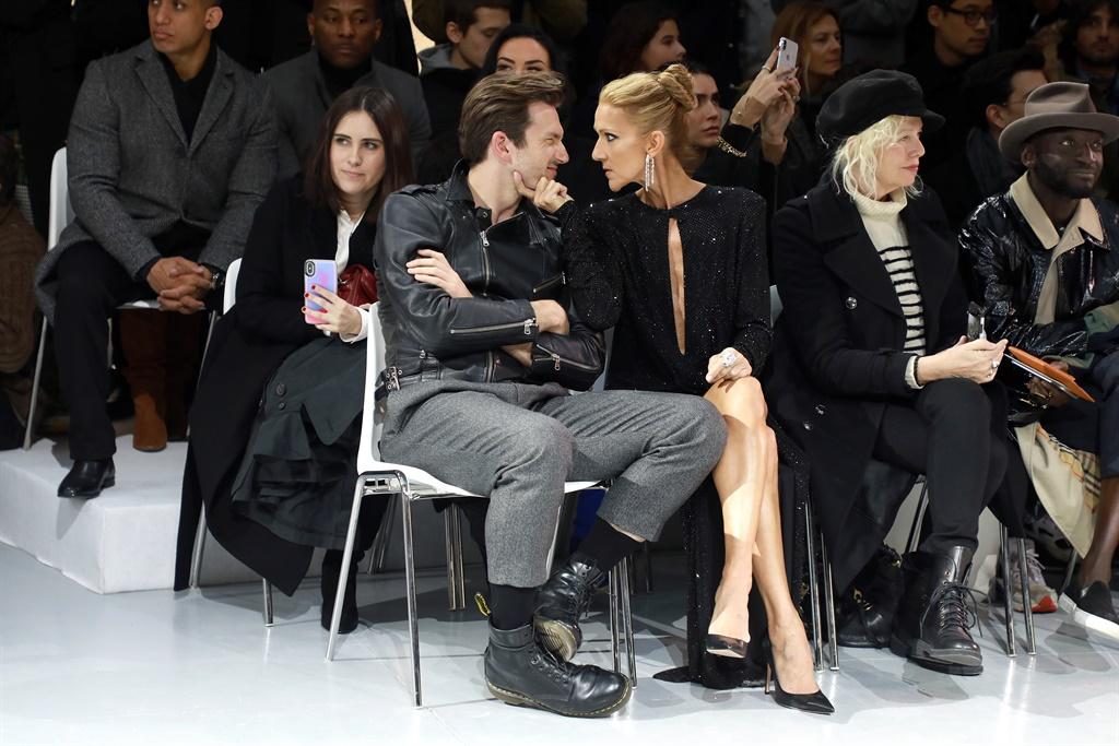 Sy was onlangs by die Paryse Modeweek alte liefies