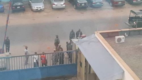 daily trust, soldiers invade