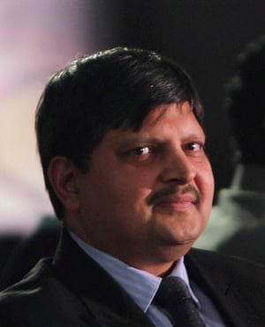 Atul Gupta at the launch of ANN7 news channel on A