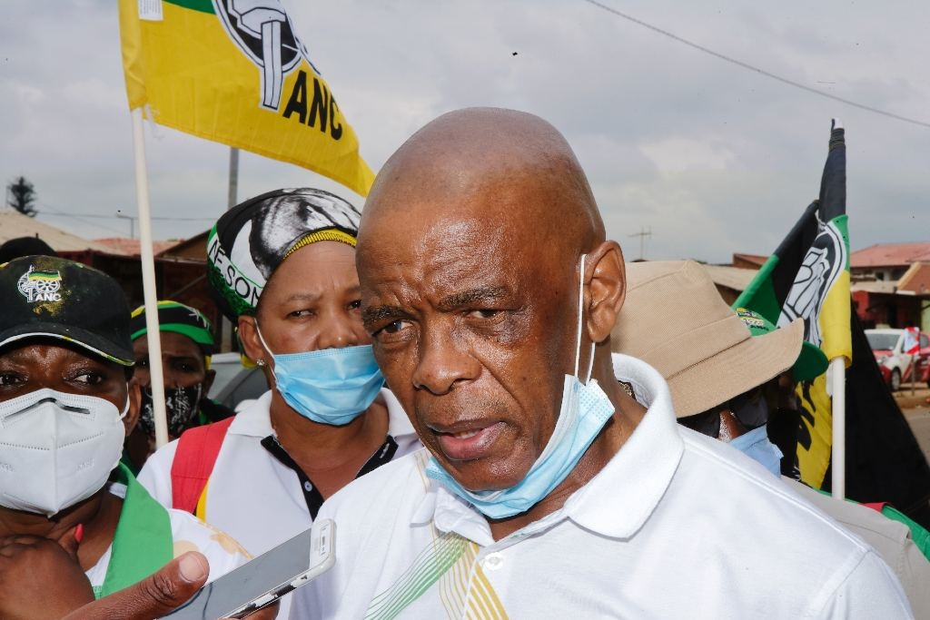 ANC secretary-general Ace Magashule embarks on a door-to-door campaign ahead of the by-elections on 10 November 2020 in Soweto.