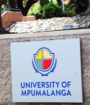 University of Mpumalanga. (Leon Sadiki/City Press)