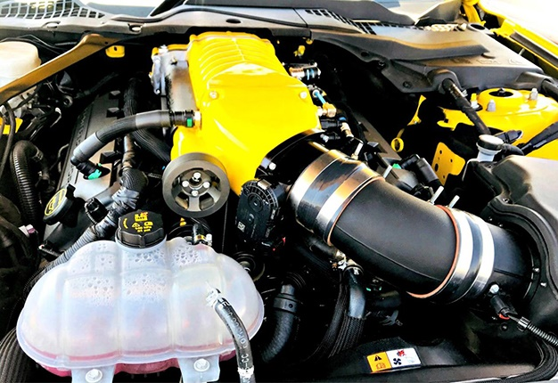 ford mustang supercharger