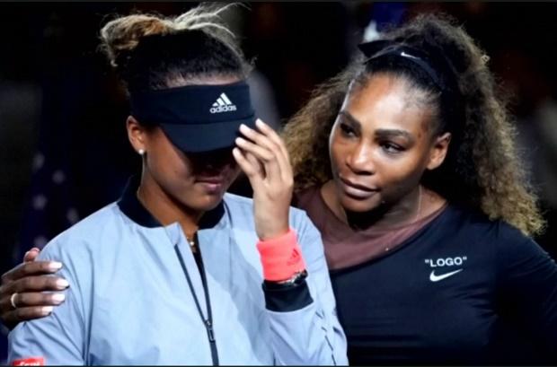 Too close for comfort? Serena williams and Naomi Osaka, US Open 2018.