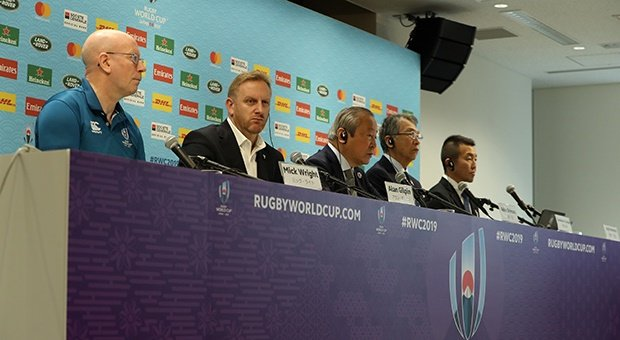 Rugby World Cup organisers