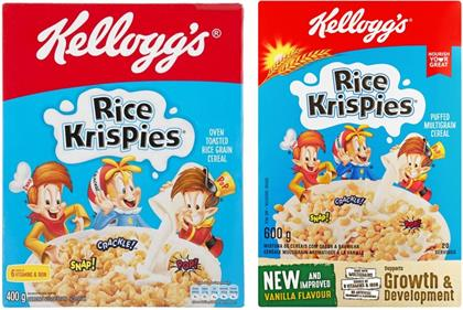 The new Rice Krispies contain much less rice and much more