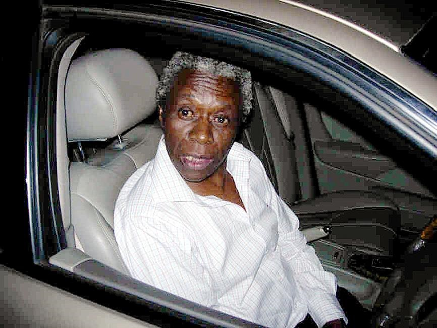 Nkola Motata, a former judge who was convicted of drunk driving in 2009