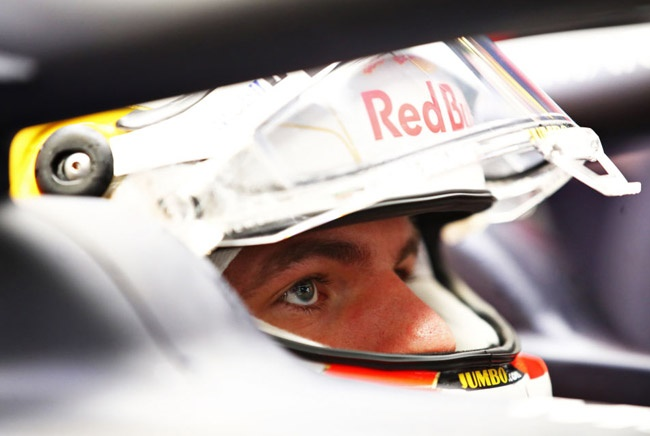 Max Verstappen of Netherlands and Red Bull Racing prepares to drive in the garage during final practice ahead of the F1 Grand Prix of Turkey at Intercity Istanbul Park on November 14, 2020 in Istanbul, Turkey.