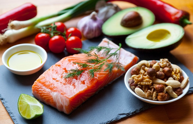 healthy foods on Mediterranean diet