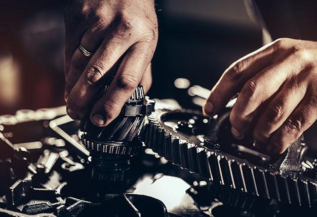 Gearbox gears