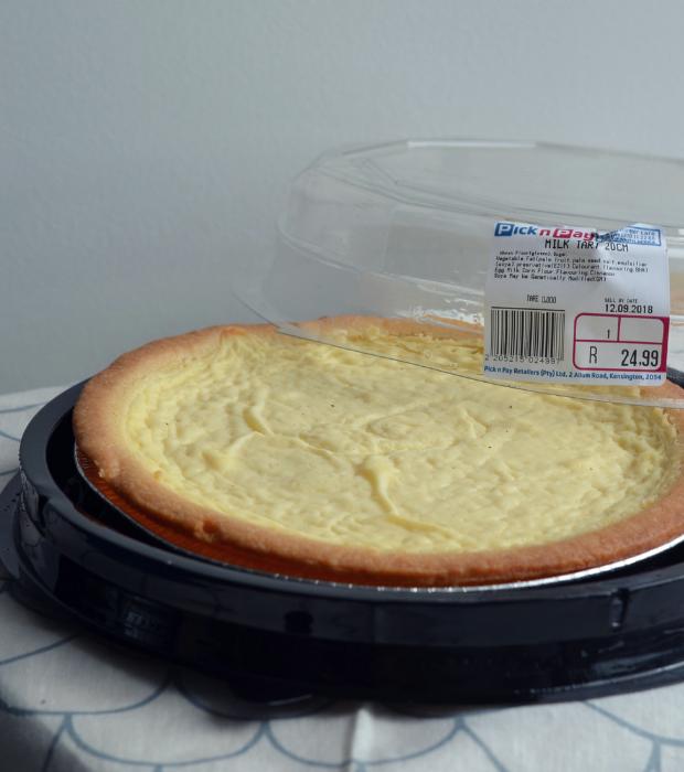 pnp milk tart