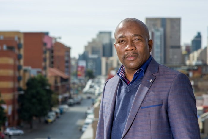 Hartley Ngoato received close to R400 000 to serve on the NAC board Picture:Lauge Sorensen