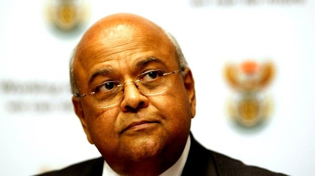 Minister of Public Enterprises Pravin Gordhan.