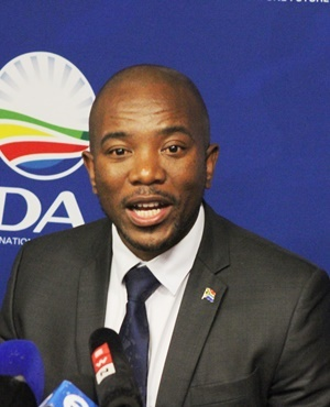 DA Leader Mmusi Maimane. (Photo by Gallo Images, Daily Sun, Lindile Mbontsi)