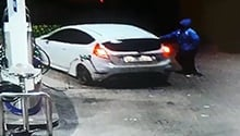 WATCH: Driver flees petrol station without paying R753 for petrol