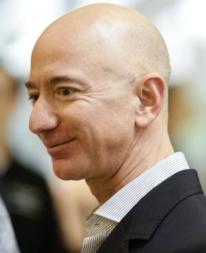 Amazon CEO Jeff Bezos. (Photo: Jason Redmond, AFP)