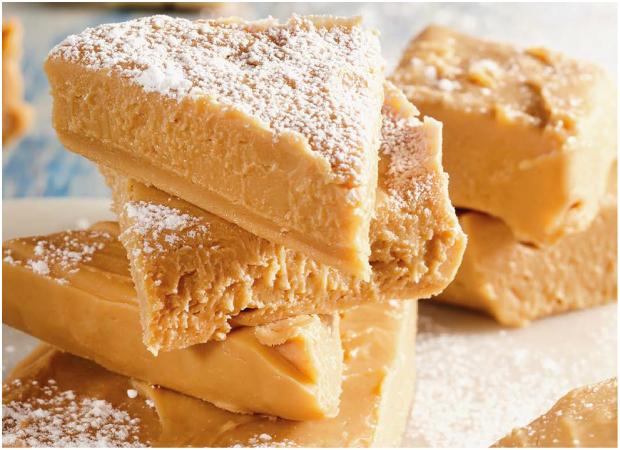 Two ingredient caramel fudge
