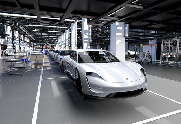 Porsche Enters The Electric Era With The New Taycan Sports Car