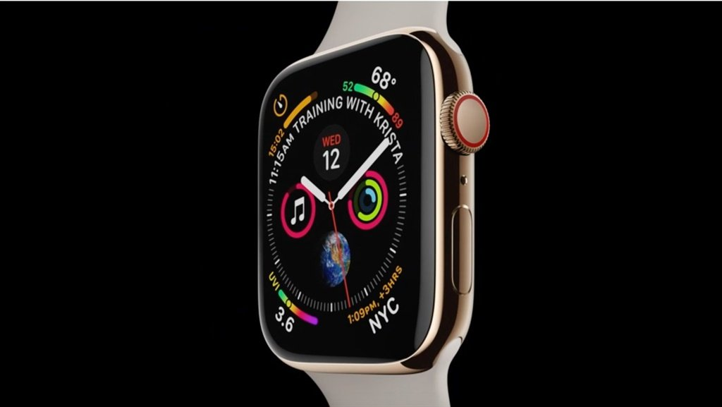Check out the New Watch Faces on the Apple Watch 4