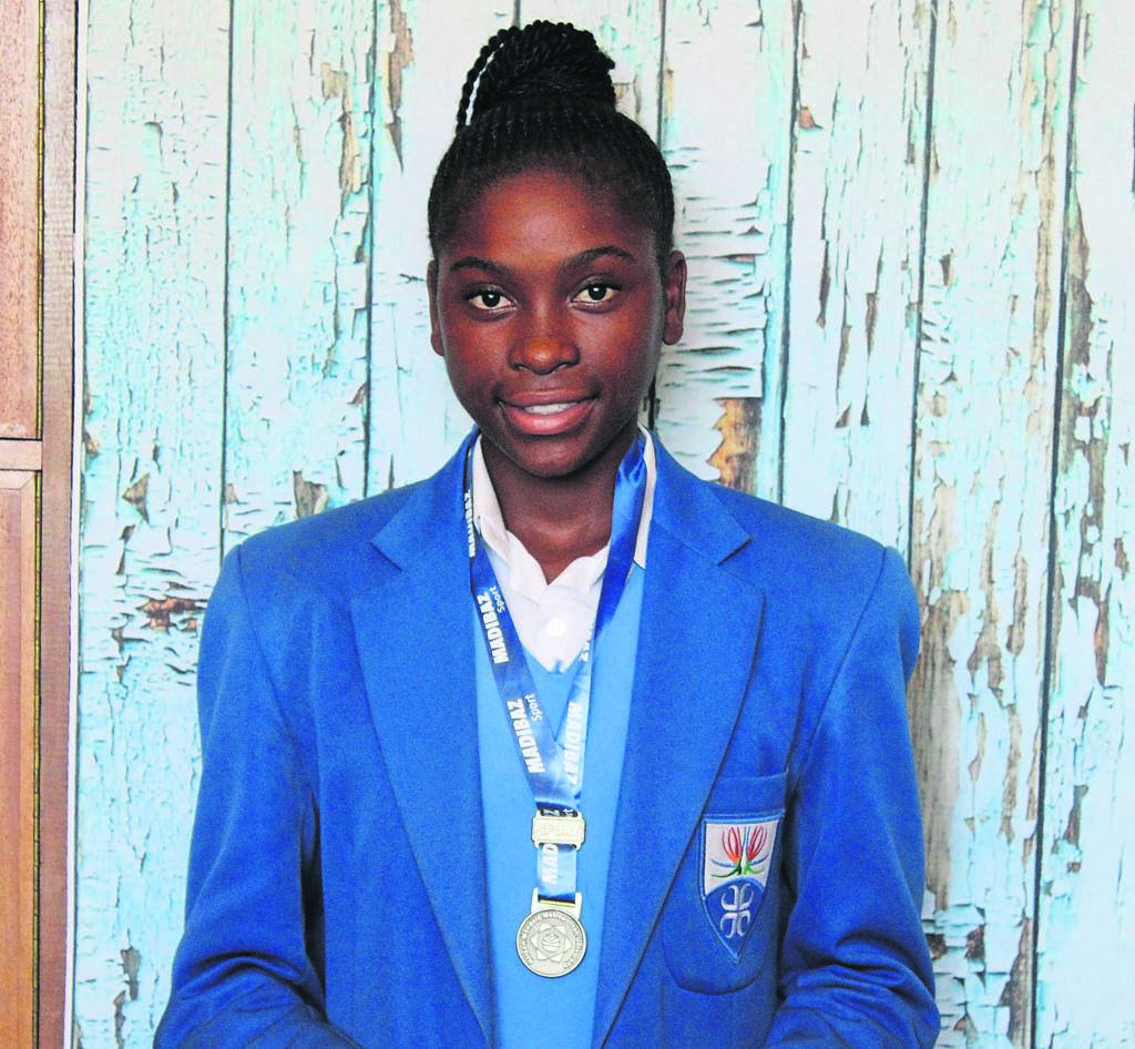 Zanele Ndabambi, a Grade 9 learner form Strelitzia High School participated in the NMU Ergo Regatta 2020 where she attained first place, receiving a gold medal. She rowed scull U/16 against Clarendon High, Mthahta High, Selborne High, St Mary's College and Buffalo Rowing Club.      Photo:SUPPLIED